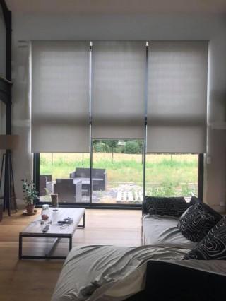 Habillage baie vitrée