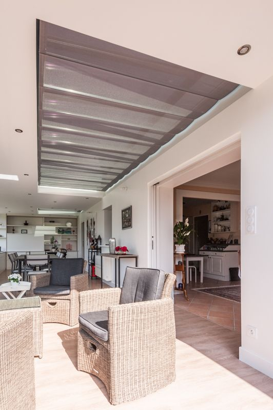 stores anti chaleur sous toiture v randa. Black Bedroom Furniture Sets. Home Design Ideas